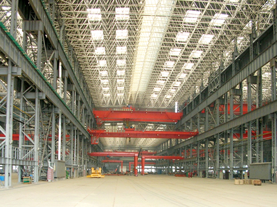 Steel Structure of Cnpc Workshop in Huangdao District