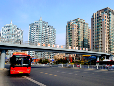 North Fuzhou Road Overpass,Qingdao