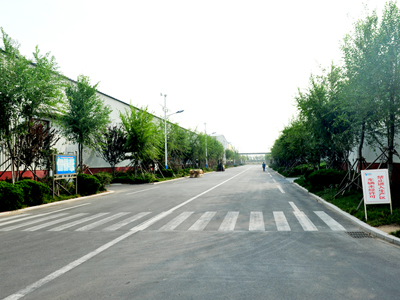 Pavement Works of China National Cotton Group Corporation