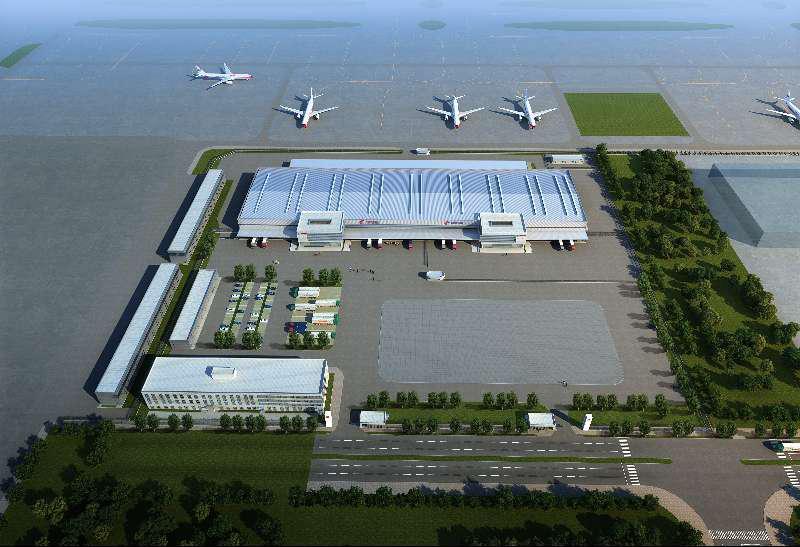 青岛新机场东航山东分公司基地项目
